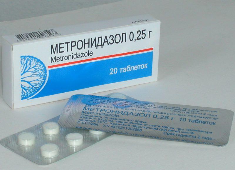 Как принимать Метронидазол