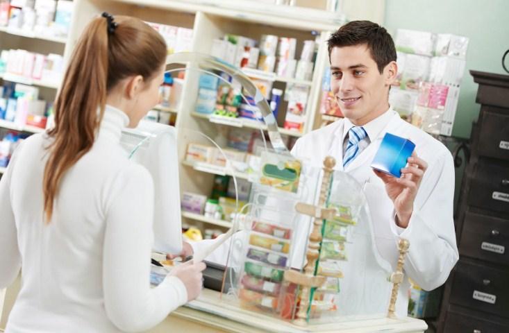 покупка в аптеке