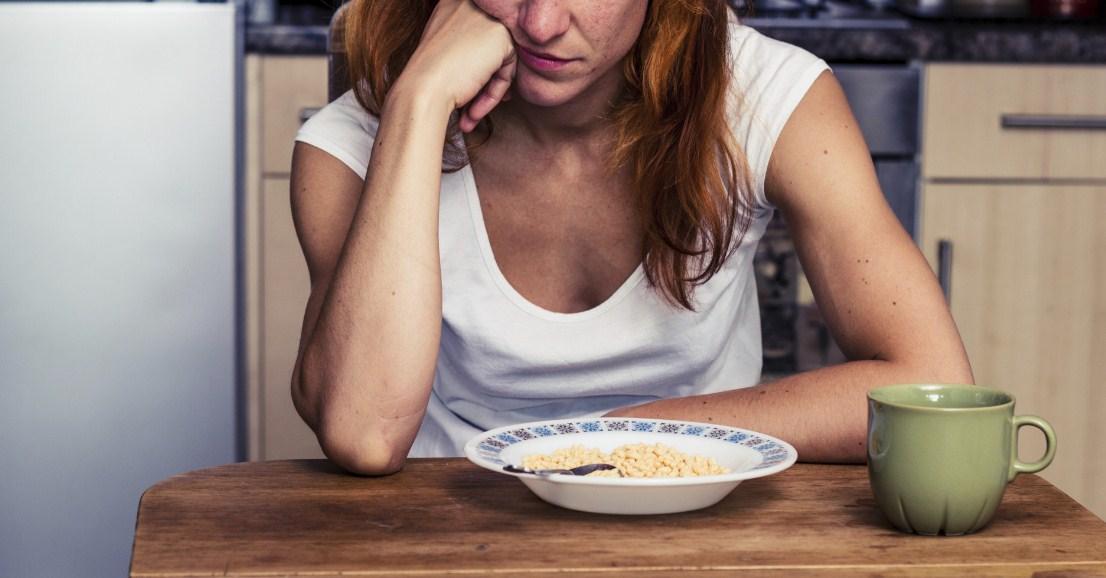 Острое чувство голода до головокружения
