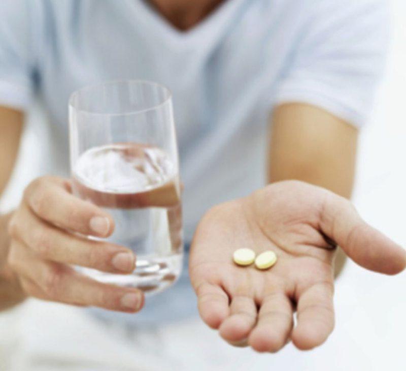 принимаем лекарство