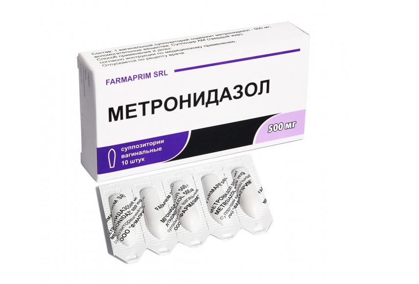 ли можно свечами при лечении секс метронидазол