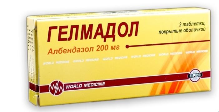 препарат гелмадол