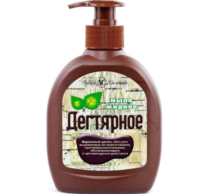 жидкое дегтярное мыло