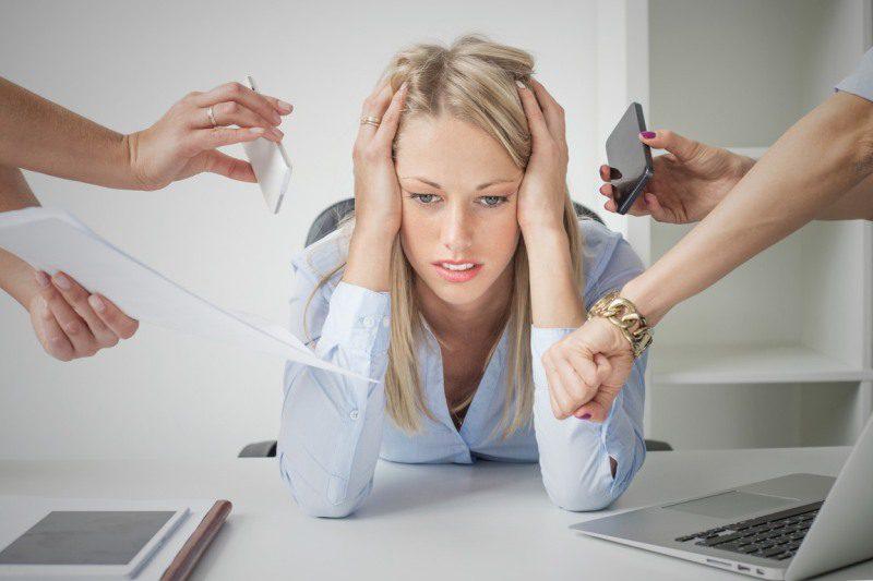 Причины стресс
