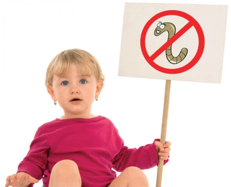 Как лечить лямблии у детей от 1 года