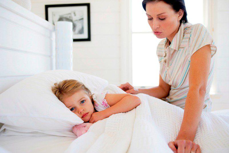 Симптоматика у детей
