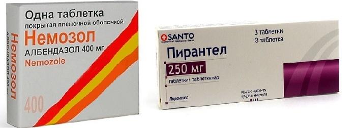 Пирантел или Немозол - что лучше выбрать для лечения глистов