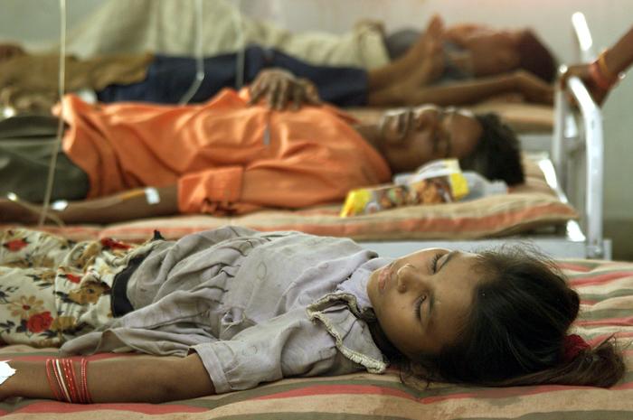 симптомы малярии