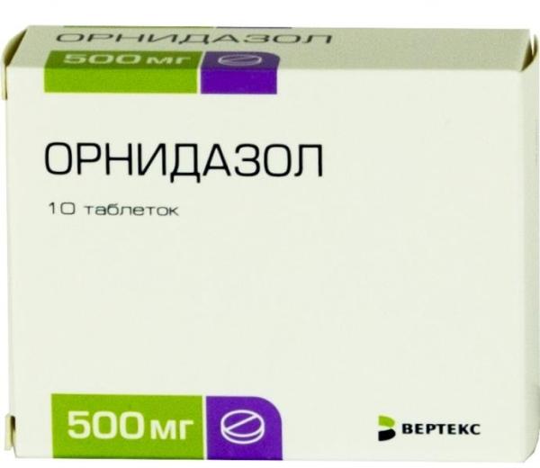лекарство Орнидазол