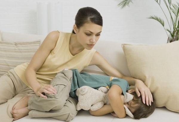 спазмы у ребенка