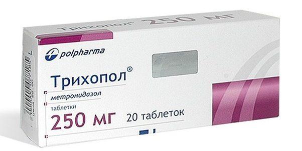 лечение трихополом от паразитов