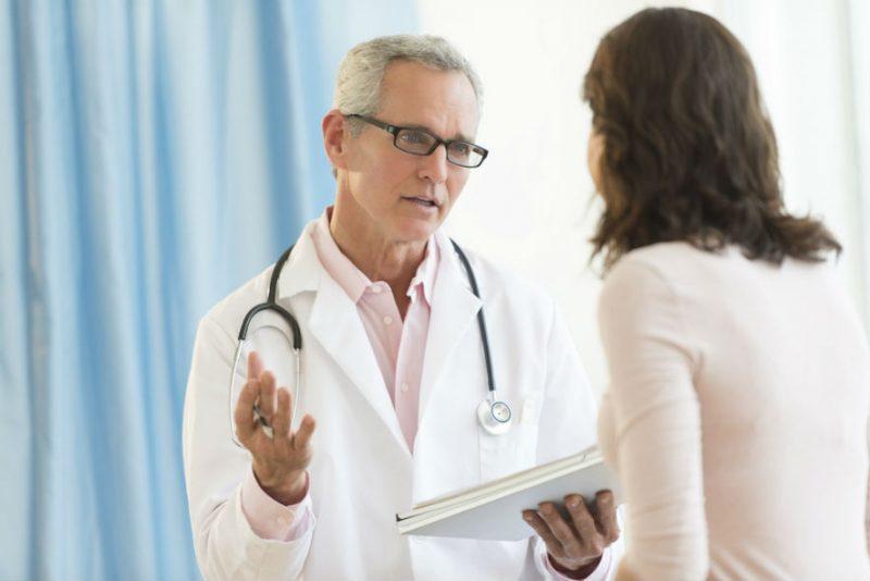 обследование врача