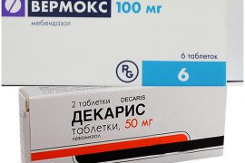 Декарис или Вермокс: что лучше убивает паразитов?