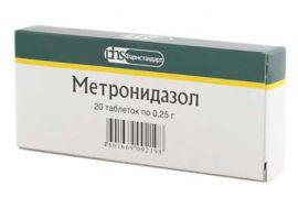 Таблетки Метронидазол: инструкция по применению