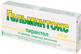 Лечение глистов у человека