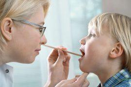 Золотистый стафилококк у ребенка в горле