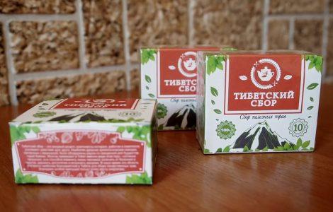 Тибетский сбор трав для очищения организма
