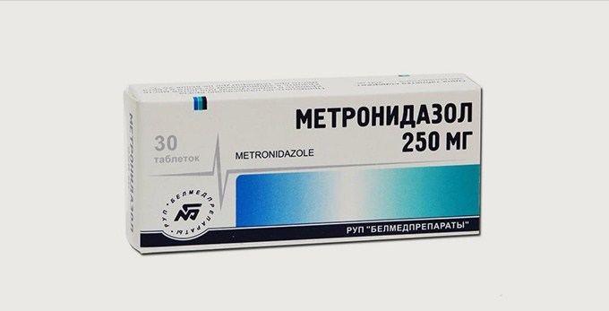 метронидазолу
