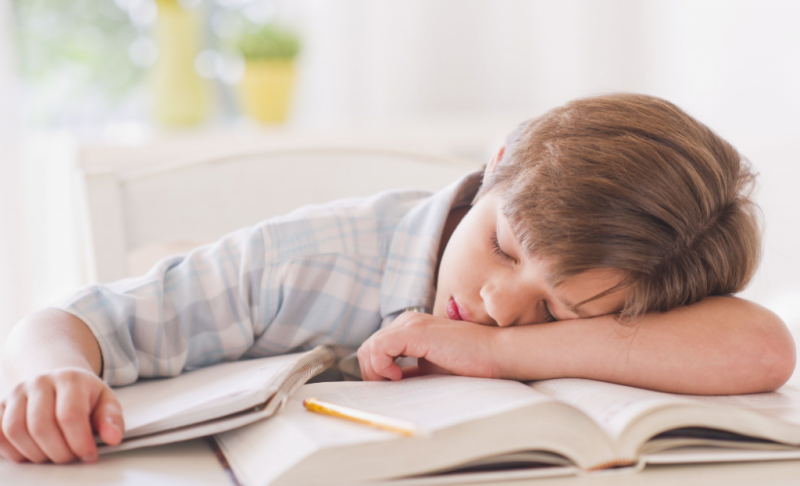 усталость у ребенка