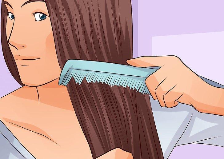 как вычесывать вшей самому
