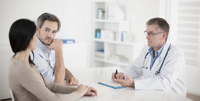 у врача на приеме