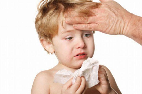 болезненный ребенок
